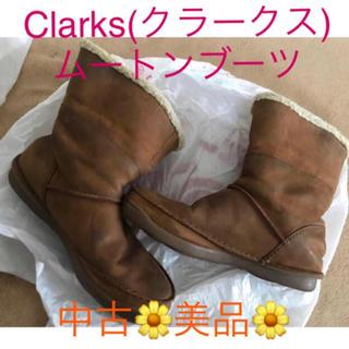 クラークス(Clarks)の中古‼️ Clarks(クラークス) ムートンブーツ 23㎝(ブーツ)