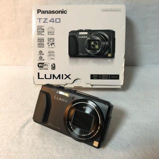 パナソニック(Panasonic)の【付属品完備】Panasonic デジタルカメラ ルミックス TZ40(コンパクトデジタルカメラ)