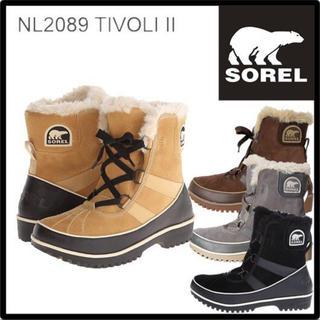 ソレル(SOREL)の美品★SOREL TIVOLI II★ソレル ティボリ★スノーブーツ(ブーツ)
