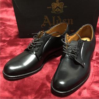オールデン(Alden)のAlden(オールデン)革靴 箱付き 未使用品(ドレス/ビジネス)