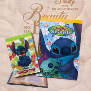 Stitch メモ帳(ノート/メモ帳/ふせん)