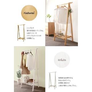 折りたたみコートハンガー コンパクト 木製 天然木 省スペース型(押し入れ収納/ハンガー)