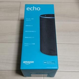 Amazon スマートスピーカー Echo チャコール(スピーカー)
