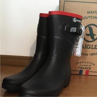 エーグル(AIGLE)のAIGLE レインブーツ 39 24.5(レインブーツ/長靴)