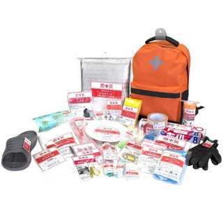 1. 常用持ち出し袋 簡易避難セット 防災グッズ30点セット(防災関連グッズ)