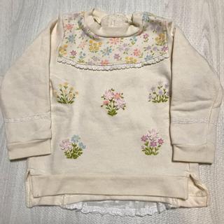 スーリー(Souris)の専用  スーリー  souris フラワーガーデン トレーナー 95(Tシャツ/カットソー)