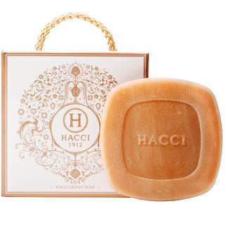 ハッチ(HACCI)の新品未使用 HACCI はちみつ石鹸 80g(洗顔料)