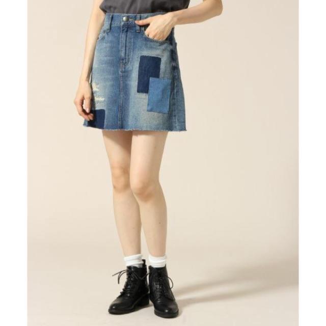 LOWRYS FARM(ローリーズファーム)のアソートデニムミニスカート レディースのスカート(ミニスカート)の商品写真