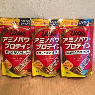 ★ザバス アミノパワープロテイン パイナップル風味 4.2gx11本x各3袋