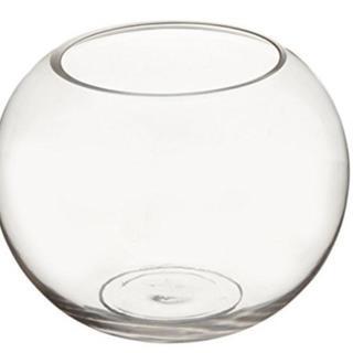 ガラス 容器 テーブル ボウル 金魚鉢(バスケット/かご)