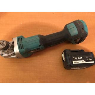 マキタ(Makita)のマキタ充電式グラインダー14.4v(値下げ交渉可)(工具)