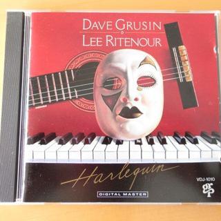 デイヴ・グルーシン&リー・リトナー ハーレクイン【85年国内盤CD】送料無料(ジャズ)