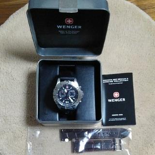 ウェンガー(Wenger)のWENGER 腕時計 ダイバーズ(200m) クロノ(腕時計(アナログ))