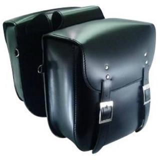 大容量収納 高品質 バイク用サイドバッグ【2個セット】(装備/装具)