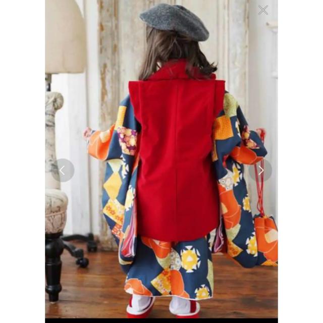専用 utatane 3歳七五三セット キッズ/ベビー/マタニティのキッズ服 女の子用(90cm~)(和服/着物)の商品写真