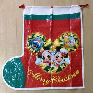 ディズニー(Disney)のディズニー  クリスマス プレゼント袋(ラッピング/包装)