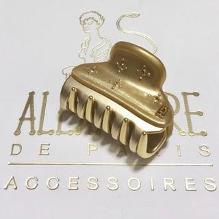 アレクサンドルドゥパリ(Alexandre de Paris)のアレクサンドルドゥパリ クリップ ヴァンドーム ゴールド 4.5(バレッタ/ヘアクリップ)