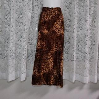 レオパード柄♡ロングスカート(ロングスカート)