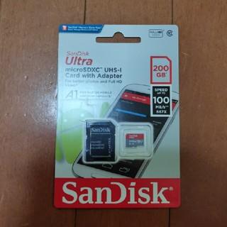 サンディスク(SanDisk)のサンディスク マイクロSDカード 200GB microSD(その他)