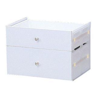 アイリスオーヤマ カラーボックス引出し ホワイト(棚/ラック/タンス)