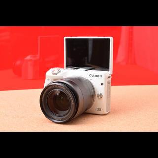キヤノン(Canon)のCanon EOS M3 レンズキット!Wi-Fi 11-14(ミラーレス一眼)