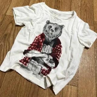 ザラ(ZARA)のZARA ザラ タトゥー BEAR Tシャツ 110(Tシャツ/カットソー)
