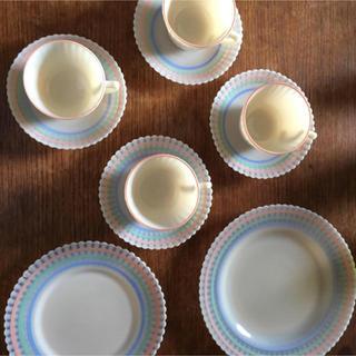 パイレックス(Pyrex)の超希少 マクベスエバンス 食器セット(食器)