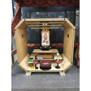 現代仏壇 展示品 Polygon8 山口仏壇製作所 日本製(棚/ラック/タンス)