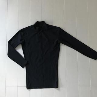 スポルディング(SPALDING)のスポルディング 長袖アンダーシャツ 140cm 黒(ウェア)