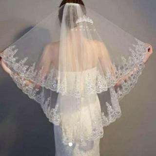 ウエディングベール キラキラベール(ヘッドドレス/ドレス)