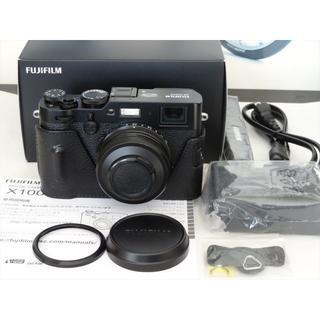 フジフイルム(富士フイルム)の本日限定 FUJIFILM X100F GARIZケース付 おまけ有(コンパクトデジタルカメラ)
