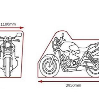 △バイクカバー 大型 耐熱 防水 超ビッグサイズ XXXXL(その他)