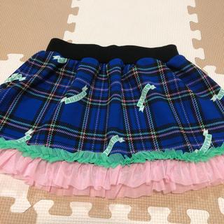アースマジック(EARTHMAGIC)のさらにお値下げしました💙 アースマジック  スカート  130  (スカート)