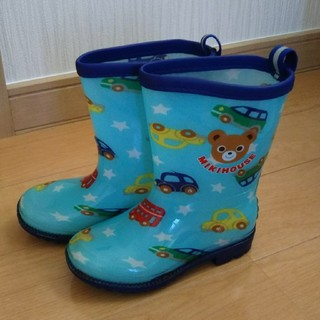 ミキハウス(mikihouse)のミキハウスmikihouse 長靴 15cm 男の子(長靴/レインシューズ)