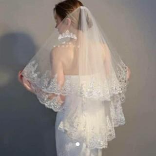 ロングベール コーム付き 150㎝(ヘッドドレス/ドレス)