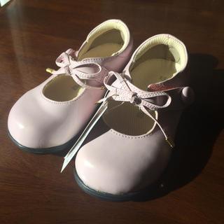 フォーマルシューズ 15センチ 薄ピンク 新品未使用 結婚式 七五三 等 (フォーマルシューズ)