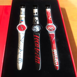 スウォッチ(swatch)のswatch コカ・コーラ×アテネ五輪公式モデル 新品未使用(腕時計(デジタル))