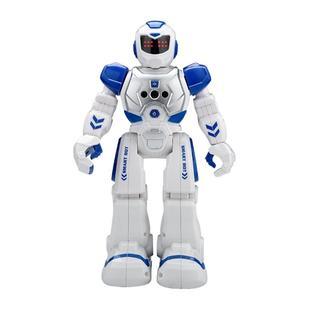 インテリジェン 人型ロボット 多機能ロボット(ブルー)(その他)