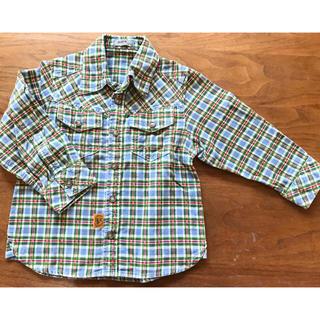 パプ(papp)の100㎝ シャツ(Tシャツ/カットソー)