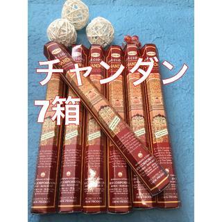 お香 HEM チャンダン  7箱セット スティック!!!! #香る城NET(お香/香炉)