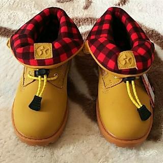 18cm 新品  TEXACO 格好いい ショートブーツ (ブーツ)