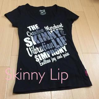 スキニーリップ(Skinny Lip)のSkinny Lip Tシャツ 黒(Tシャツ(半袖/袖なし))
