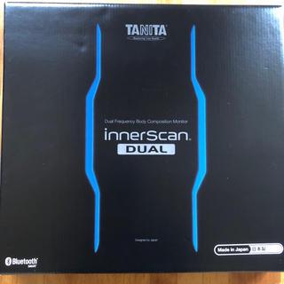 タニタ(TANITA)のTANITA タニタ 体組成計 RD906 ブラック美品(体重計/体脂肪計)