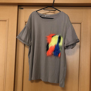 ザラ(ZARA)のZARA ザラ  Tシャツ L(Tシャツ(半袖/袖なし))