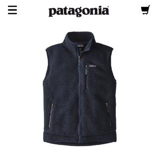 patagonia - ★新品タグ付★patagoniaパタゴニア/レトロパイルベスト/NVYB/XS