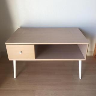 ramune65様専用 テーブル テレビ台 ウッド 木目(ローテーブル)