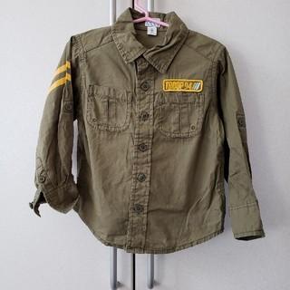 オールドネイビー(Old Navy)のアーミーシャツ(ブラウス)