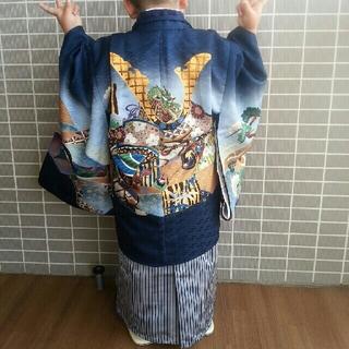 お祝い着 七五三 男児トータルセット(和服/着物)