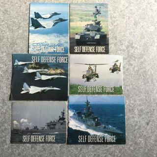 自衛隊   陸海空自衛隊シール6枚組(その他)