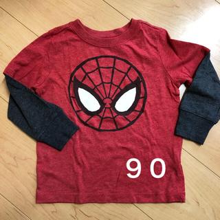 オールドネイビー(Old Navy)のロンT スパイダーマン(Tシャツ/カットソー)